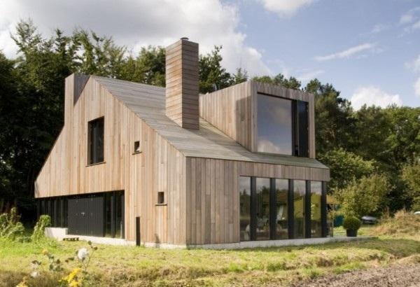 Các ý tưởng thiết kế nhà gỗ hiện đại và độc đáo