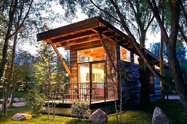 Làm nhà gỗ mini