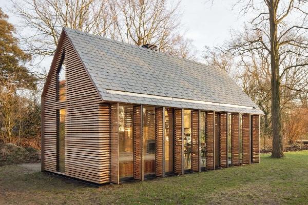 Làm nhà gỗ mít