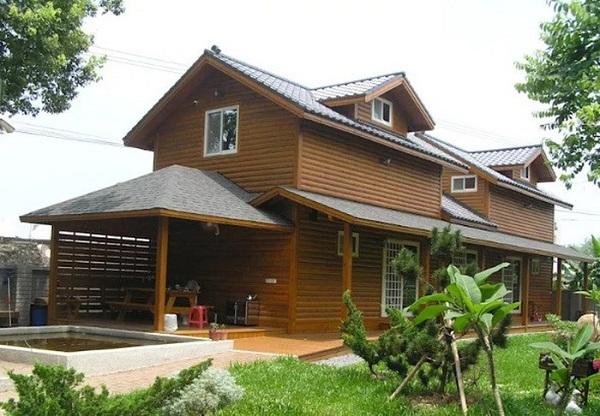 Mẫu kiến trúc nhà gỗ Nhật Bản