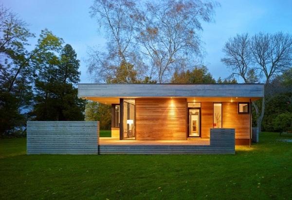Mẫu nhà bằng gỗ lim