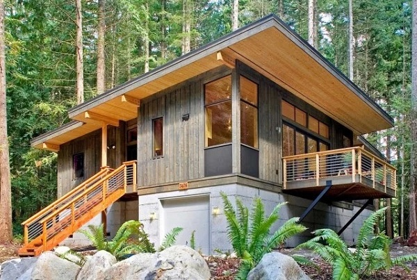 Mẫu nhà gỗ đơn giản đẹp