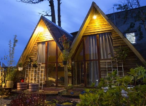 Mẫu nhà gỗ kiểu đà lạt