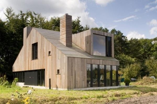 Nhà bằng gỗ lim đẹp