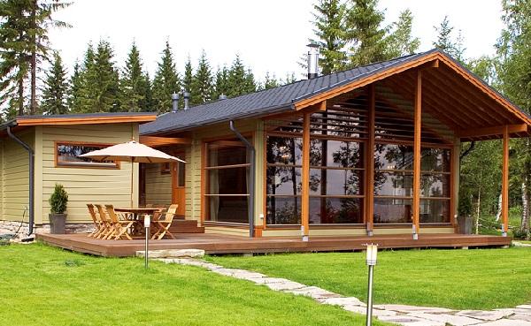 Nhà bằng gỗ xoan