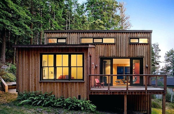Nhà gỗ đơn giản đẹp