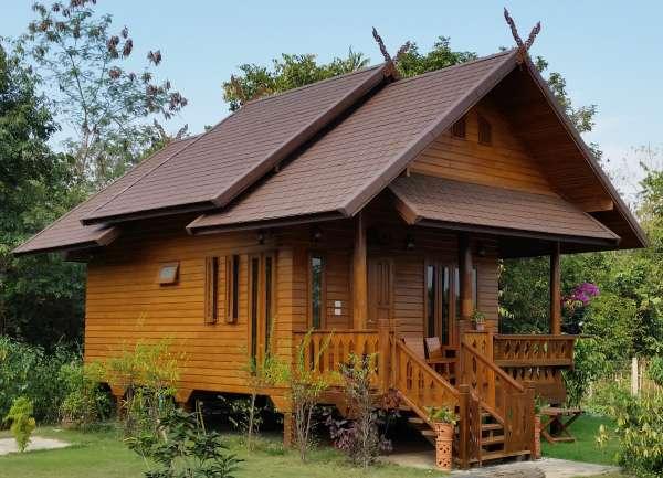 Nhà gỗ theo phong cách Thái Lan