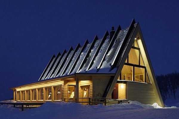 Nhận thiết kế và làm thi công nhà hàng bằng gỗ