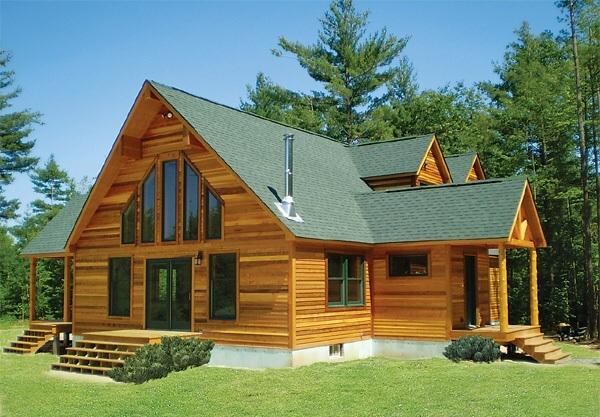Thi công nhà gỗ hiện đại