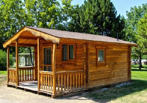 Thiết kế nhà gỗ mini