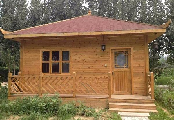 Thiết kế nhà gỗ nhỏ đẹp