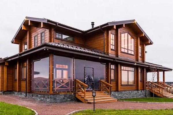 Xây dựng nhà gỗ đẹp