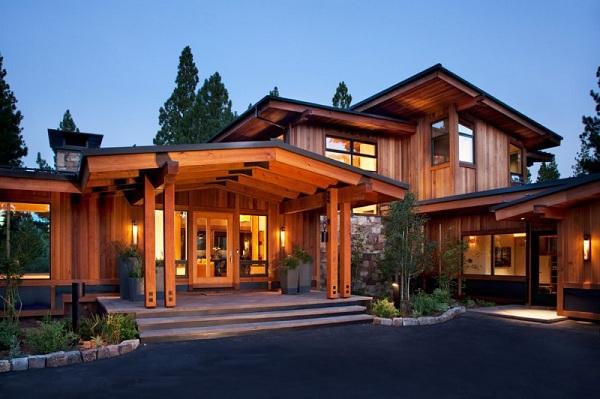 Xây nhà gỗ giá rẻ