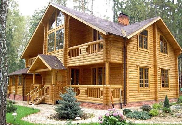 Xây nhà gỗ hiện đại