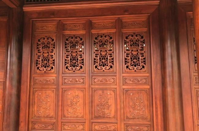 Hoa văn nhà gỗ cổ