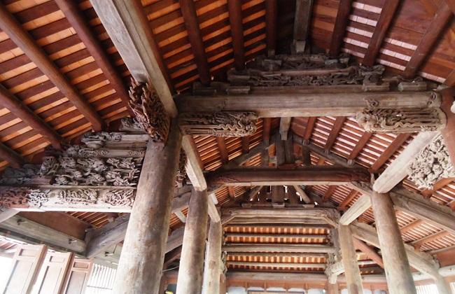 Kết cấu con rường nhà gỗ cổ
