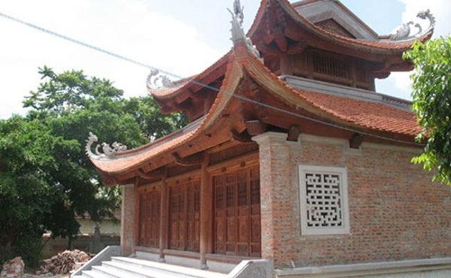 Kết cấu của nhà gỗ cổ