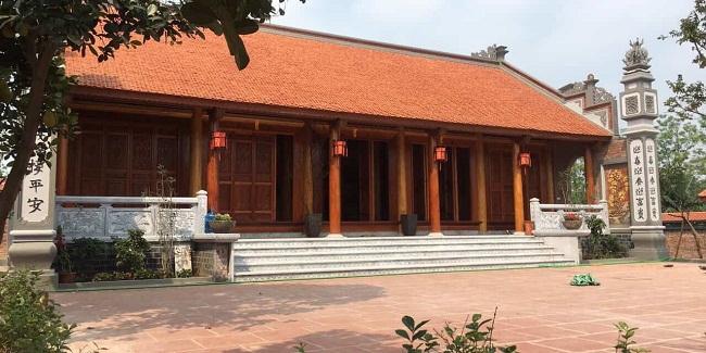 Kết cấu mái nhà gỗ cổ