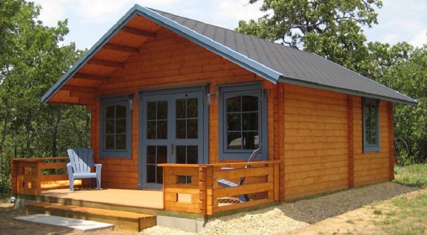 Mẫu nhà gỗ 3 gian hiện đại