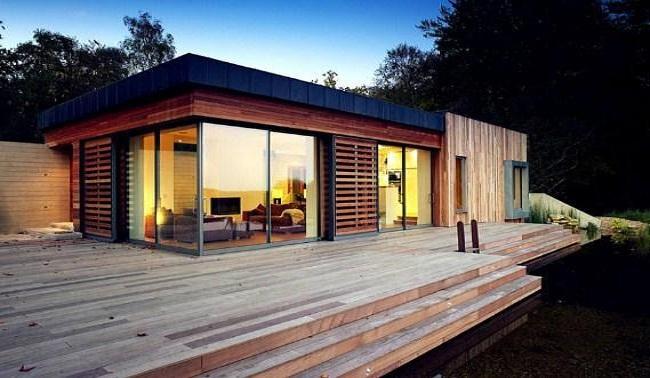 Mẫu nhà gỗ cấp 4 hiện đại