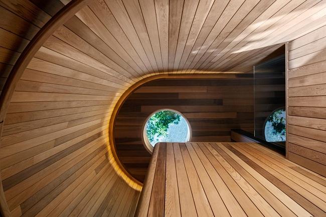 Mẫu nhà gỗ đẹp với thiết kế mở