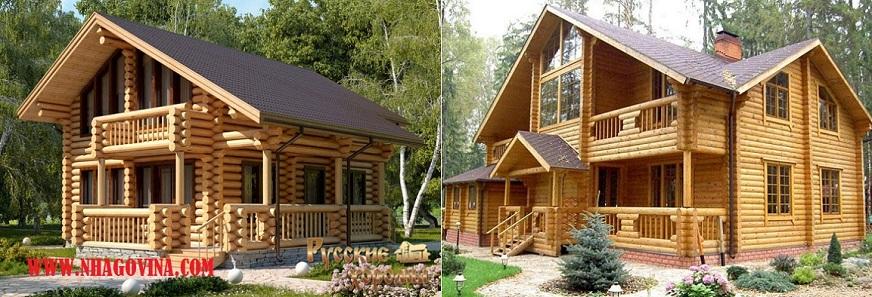 Mẫu nhà gỗ hiện đại cao cấp
