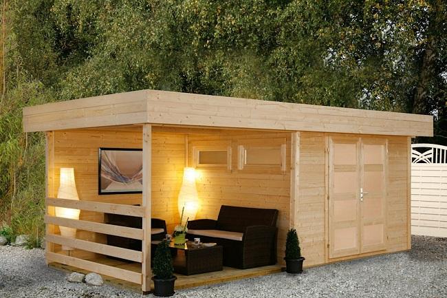 Mẫu nhà gỗ mini đẹp