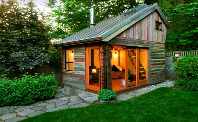 Mẫu nhà gỗ mini