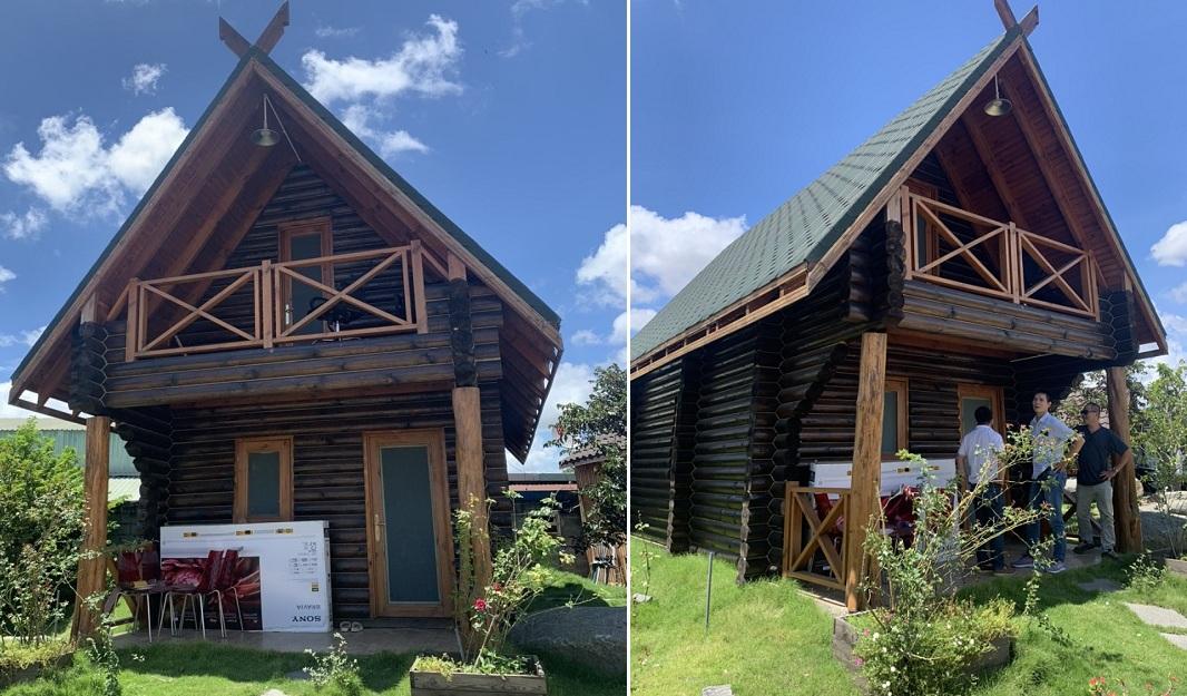 Mẫu nhà gỗ nhập khẩu