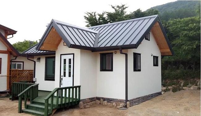 Mẫu nhà gỗ sồi
