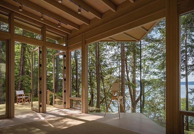 Mẫu nhà gỗ studio đẹp