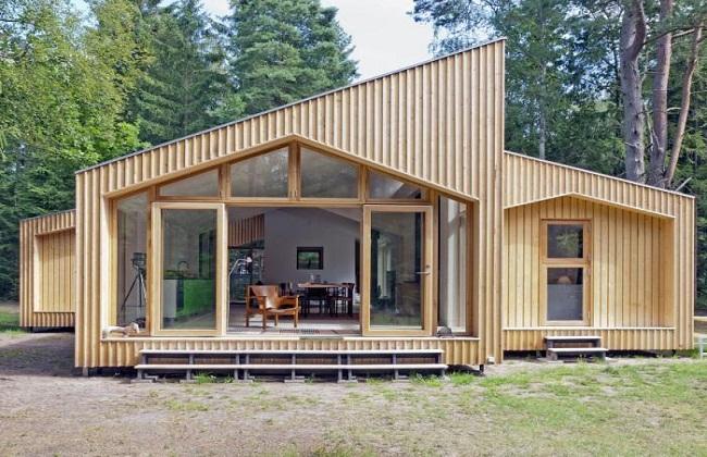 Mẫu nhà gỗ tiền chế