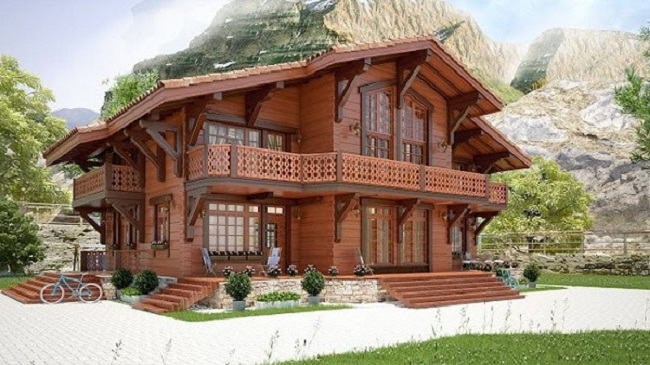 Ngôi nhà gỗ đẹp nhất Việt Nam