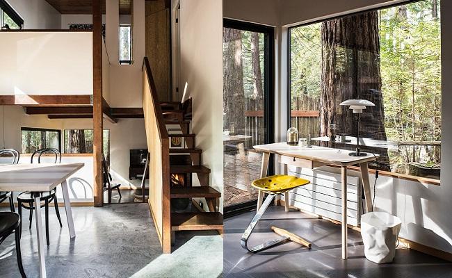 Ngôi nhà gỗ đơn sơ hiện đại