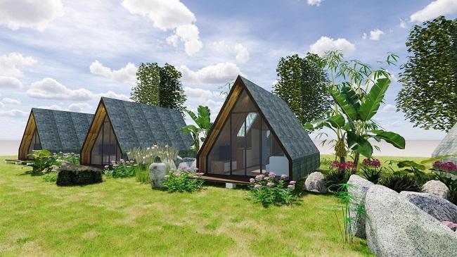 Nhà bungalow bằng gỗ