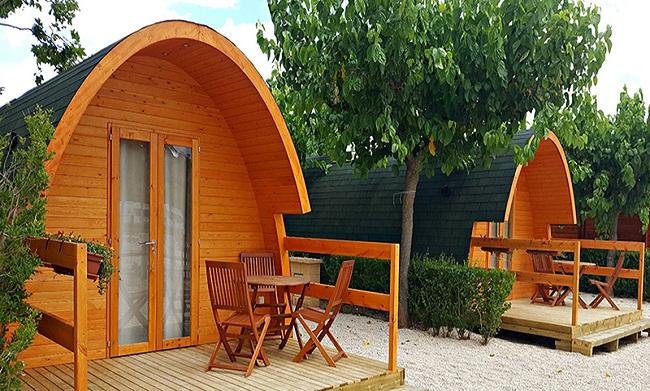Nhà bungalow gỗ