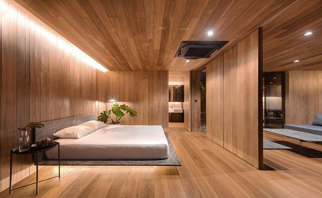 Nhà cấp 4 bằng gỗ hiện đại