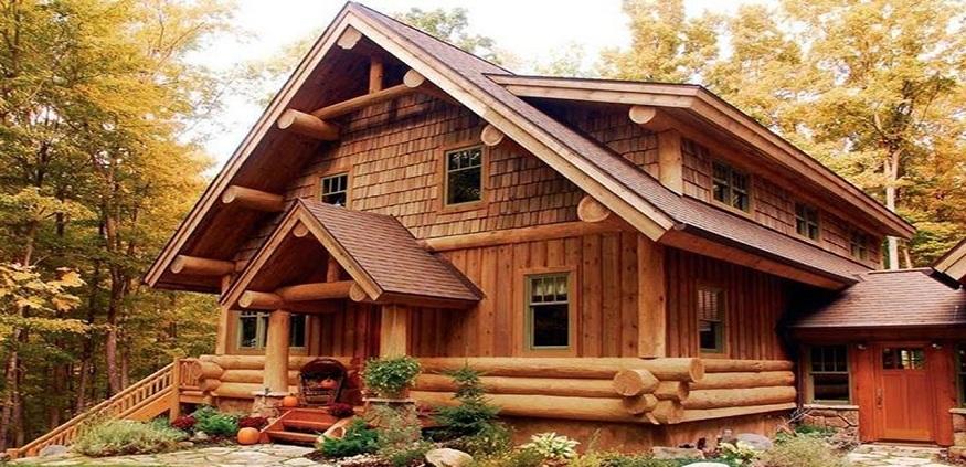 Nhà gỗ 3 gian 5 gian