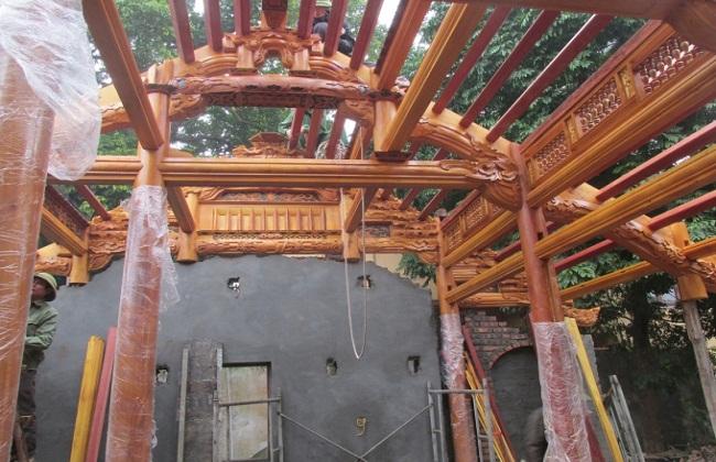 Nhà gỗ cổ kết cấu
