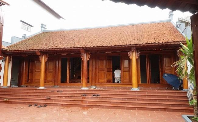 Nhà gỗ giả cổ 3 gian