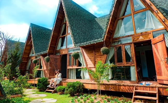 Nhà gỗ homestay tại Vũng Tàu