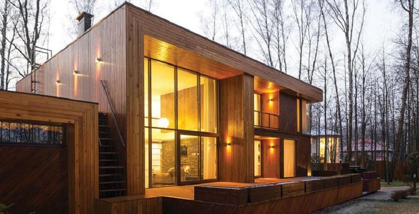 Nhà gỗ lim hiện đại