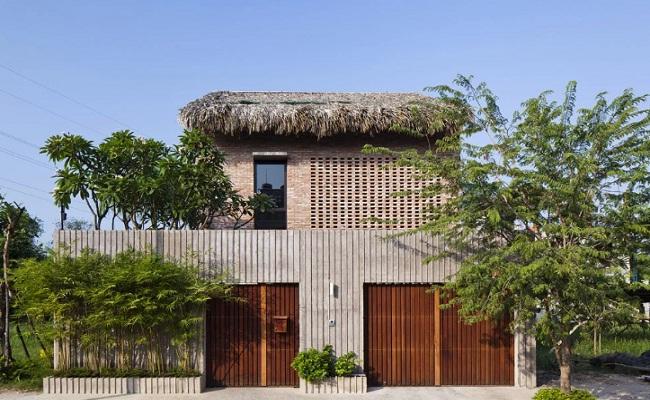 Nhà gỗ miền Tây hiện đại