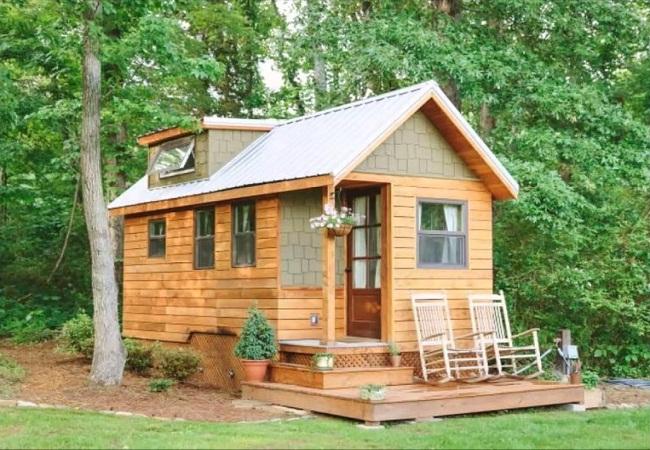 Nhà gỗ mini