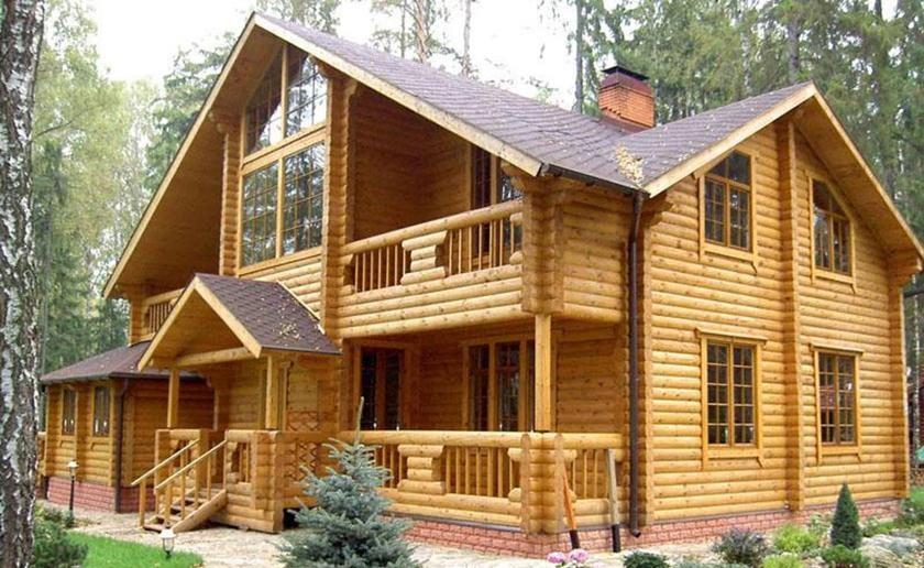 Nhà gỗ mít hiện đại