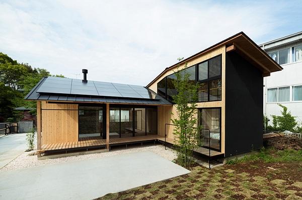 Nhà gỗ Nhật Bản đẹp