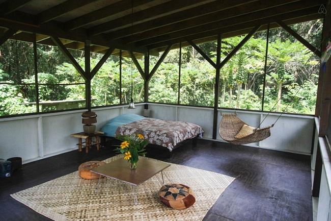 Nhà sàn gỗ đơn sơ đẹp
