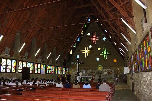 Nhà thờ gỗ ở Đà Lạt