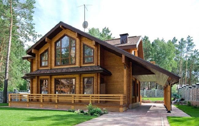 Những căn nhà gỗ đẹp