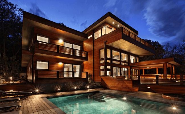 Những ngôi nhà gỗ đẹp